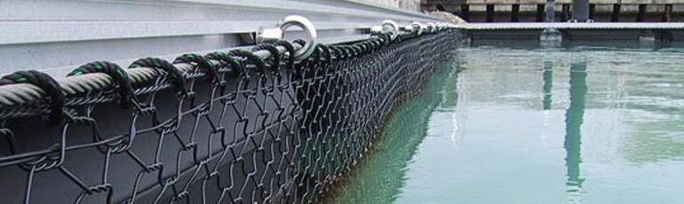 Su ürünleri ağ kafes