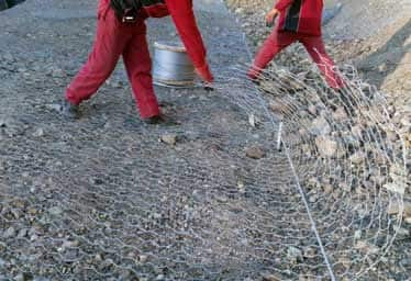 Kastamonu Çankırı Yolu Yüzeysel Şev Koruma